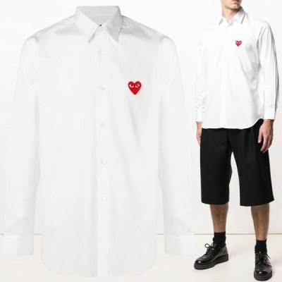 20SS 레드 와펜 클래식 셔츠 화이트 AZ-B002-051-2