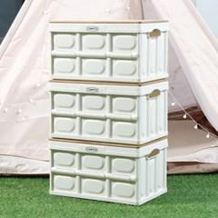 제이픽스 캄푸스 감성캠핑 대형 폴딩박스 테이블 + 자작상판(인타입)