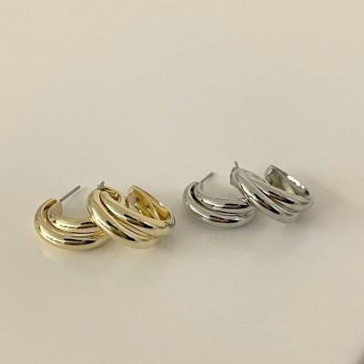 오딘 링 귀걸이 (2colors)