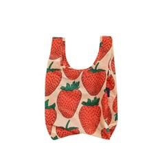 [바쿠백] 소형 베이비 에코백 장바구니 Strawberry_(5297974)