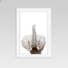 아이방 인테리어 동물액자 코끼리A