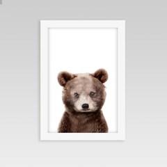 아이방 인테리어 동물액자 아기곰