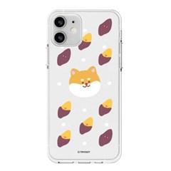 하푼 LG Q7 플러스 겨울동물 투명젤리 케이스