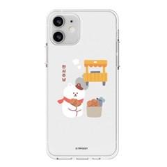 하푼 LG X6 2019 겨울동물 투명젤리 케이스