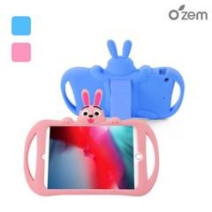 오젬 아이패드 미니4 미니5 공용 토끼 캐릭터 실리콘 케이스