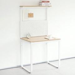 HL5001 필웰 루피노 라운드 타공판 책상 테이블 800_(303156765)