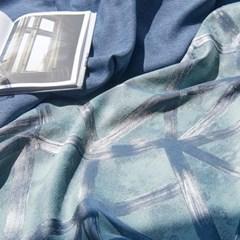 덴버 디자인커튼 블루(700x230cm)