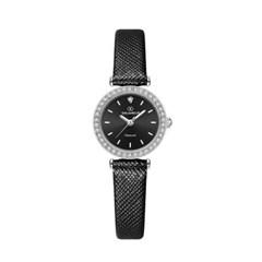 [본사정품] 디유아모르 DAW3201L-BK 가죽 여성시계
