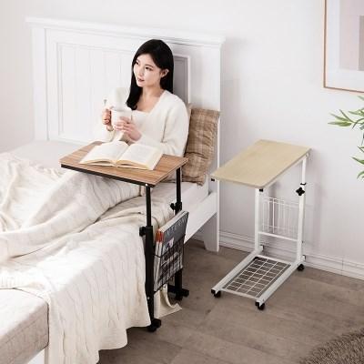 [미즌하임]아이반 이동식 테이블 (블랙/화이트)