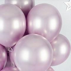 헬륨풍선효과 크롬벌룬 라벤더 [50개묶음]_(12184833)