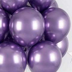 헬륨풍선효과 크롬벌룬 바이올렛 [50개묶음]_(12184828)