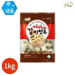 굿프랜즈 매콤육즙 갈비만두 1kg x 1봉