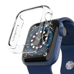 애플워치 6 SE 5 4 케이스 투명 하드 누킨