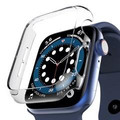 애플워치 6 SE 애플워치 5 4 케이스 투명 하드 누킨