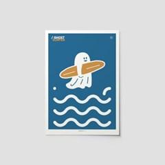 [퍼디] 고디와 푸른바다 포스터 A3 / A4