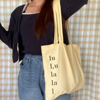 lala bag _ lemon butter