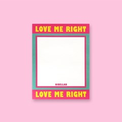 LOVE ME RIGHT 메모지