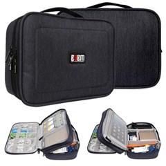 BUBM 스마트 가방 파우치 3종 케이블 배터리 메모리 충전기 디지털기
