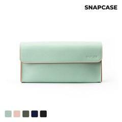 스냅케이스 노트북 충전기 마우스 민트리 파우치 가방