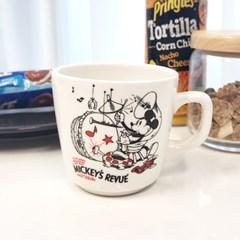 디즈니 빈티지 트럼펫 머그컵