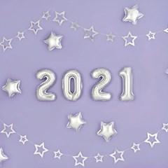 은박풍선세트 2021 소 [실버]_(12185349)