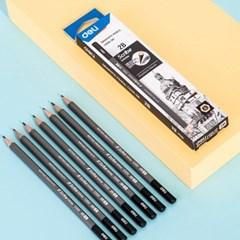 DELI 델리 스크라이브 인피니트 펜슬 연필 12자루(EC005)