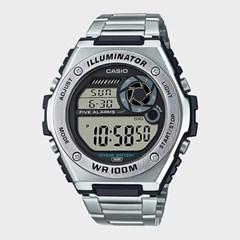 [CASIO] 카시오 MWD-100HD-1A 남성 메탈밴드 손목시계