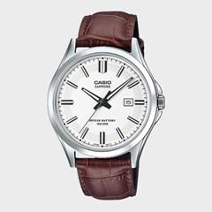 [CASIO] 카시오 MTS-100L-7A 남성 가죽밴드 손목시계