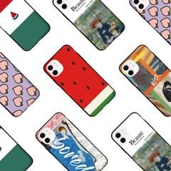프루그나 아이폰 카드범퍼케이스D