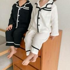 돌핀웨일 보송보송편안해잠옷상하세트(80~130cm)