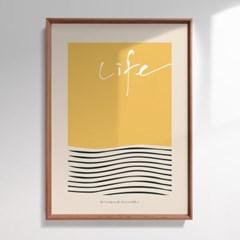 인테리어액자 Art Life 002, Koo InHo (500X700(mm))