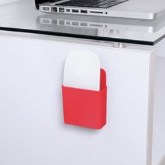 접착식 멀티수납 리모컨 거치대/ 걸이형 소품수납함
