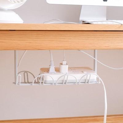 공간활용 수납 언더선반(그레이) 책상 멀티탭정리