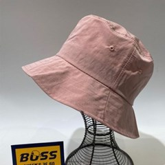 그린 핑크 꾸안꾸 챙넓은 패션 버킷햇 벙거지 모자