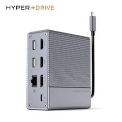 [해외직구] 하이퍼드라이브 GEN2 12포트 USB-C 멀티허브