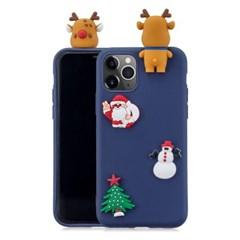 하푼 갤럭시 S21 크리스마스 3D패치 메리케이스