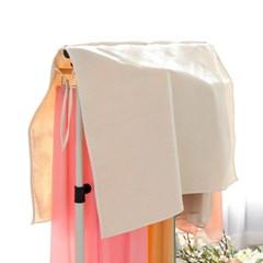 지엔 행거커버 의류덮개 옷가리개 옷걸이가림막 드레스보관