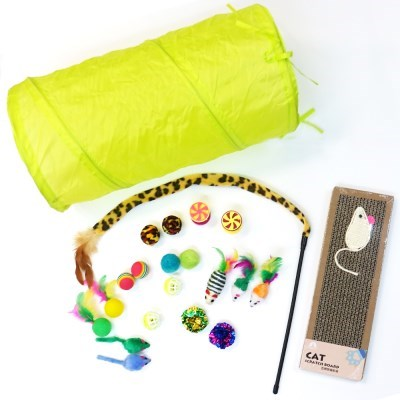 묘심 고양이장난감 종합선물세트 22pcs