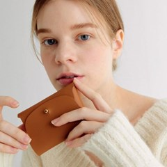 Soap Card Wallet_Camel