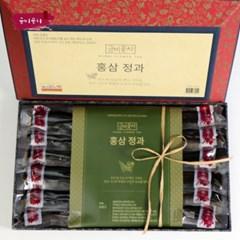 금비꽃차 김명신 명인 홍삼정과 500g
