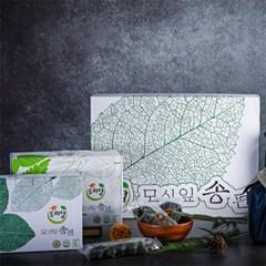 영광 두리담 모시찐송편 선물세트B (거피60알+깨50알)