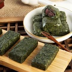 천년취떡 수리취 혼합떡 600g (인절미6개+찹쌀떡6개)