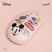 디즈니 미키마우스 무소음 무선 마우스