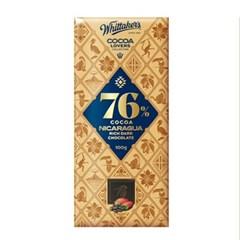 휘태커스 벽돌 초콜릿 씨솔트 캬라멜 100g 발렌타인데이 선물