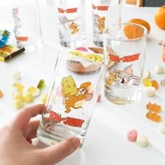 모애 레트로감성 홈카페 디자인 톰과제리 유리컵