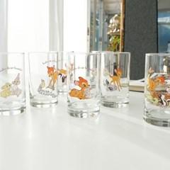 모애 레트로감성 홈카페 디자인 아기사슴 밤비 유리컵