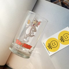 모애 레트로감성 홈카페 디자인 톰과제리D 유리컵