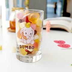 모애 레트로감성 홈카페 디자인 아기코끼리 덤보D 유리컵