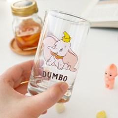 모애 레트로감성 홈카페 디자인 아기코끼리 덤보B 유리컵