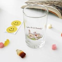 모애 레트로감성 홈카페 디자인 아기사슴 밤비E 유리컵